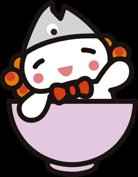 浪江町公式イメージアップキャラクターうけどん